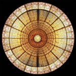 Stained Glass Dome #104