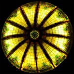 Stained Glass Dome #105