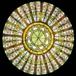 Stained Glass Dome #106