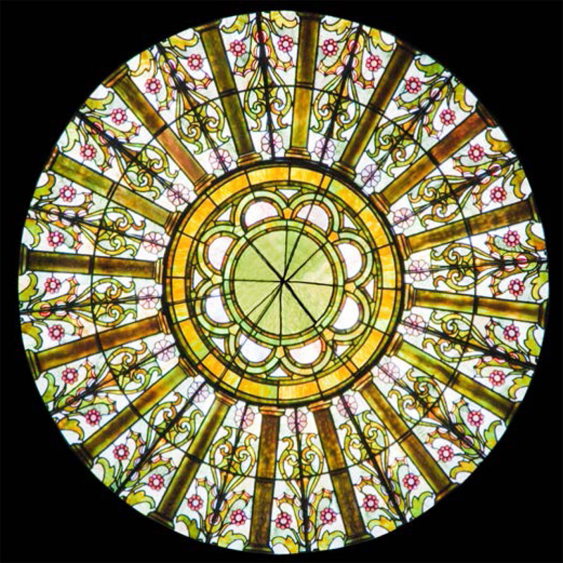 Stained Glass Dome 106 Elegant And Beautiful Domes In