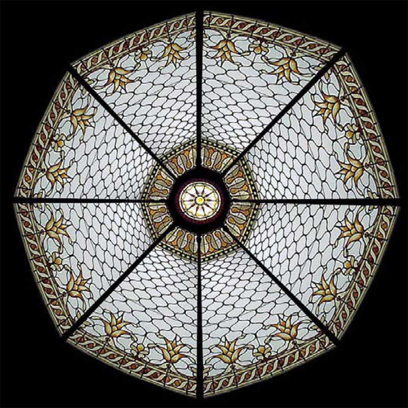 Stained Glass Dome 112 Elegant And Beautiful Domes In