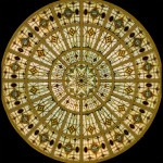 Stained Glass Dome #116