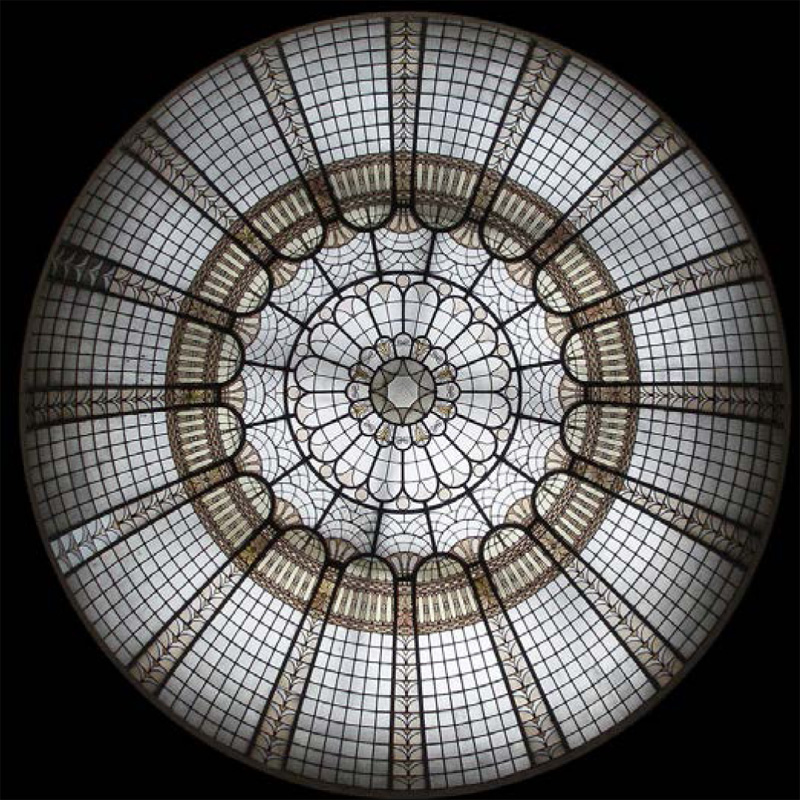 Stained Glass Dome 121 Elegant And Beautiful Domes In