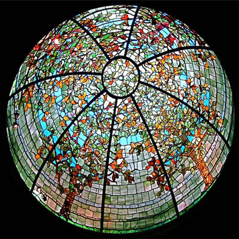 Stained Glass Dome 125 Elegant And Beautiful Domes In